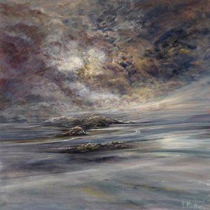 Diana Mackie Painting Hebridean Islands