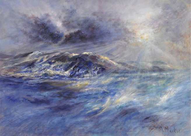 Diana Mackie Painting Incomign Gale