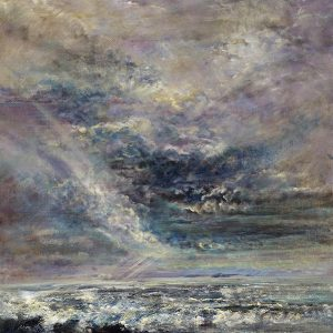 Diana Mackie Painting Incoming Tide