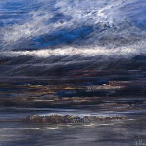 Diana Mackie Painting Low Tide