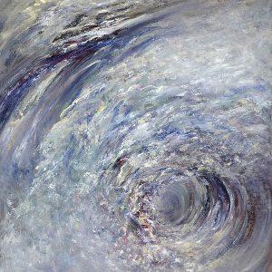 Diana Mackie Painting Surf 1