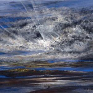 Diana Mackie Painting Tidal Islands