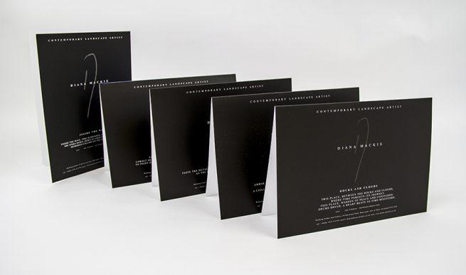 Diana Mackie Painting Cards Reverse