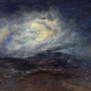 Diana Mackie Painting Breaking Weather