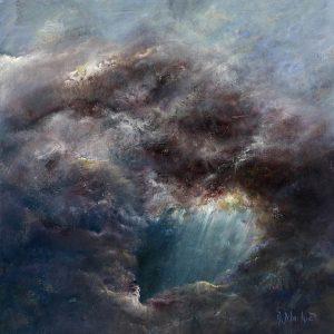 Diana Mackie Painting Cloud Space