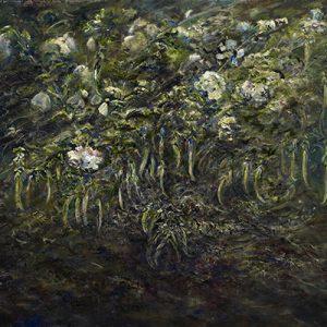 Diana Mackie Painting Peas