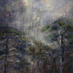 Diana Mackie Painting Pines