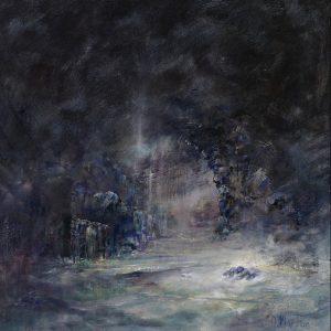 Diana Mackie Painting Staffa