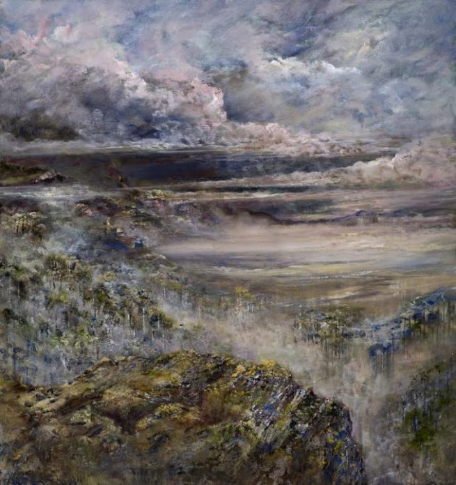 Diana Mackie Painting View Point