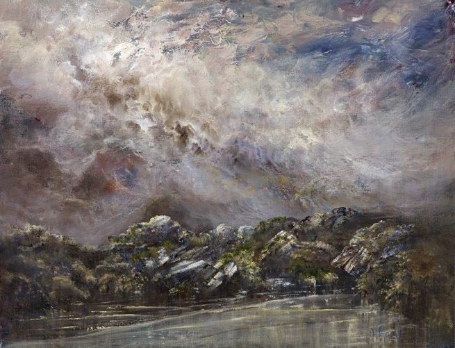 Diana Mackie Painting Sligachan Series 3