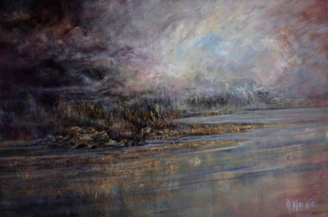 Diana Mackie Painting Darks and Lights 1