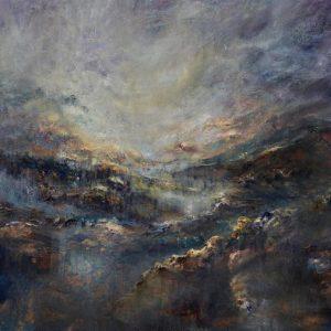 Diana Mackie Painting Darks and Lights 2
