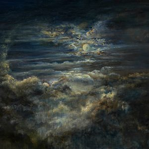 Diana Mackie Painting Moonlight and Cloud