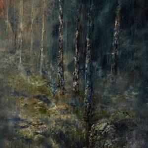Diana Mackie Painting Glen Affric Woodland