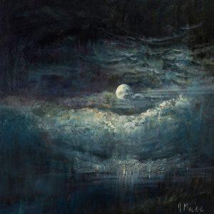 Diana Mackie Painting Full Moon