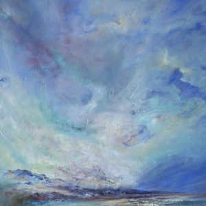 Diana Mackie Painting Early Morning