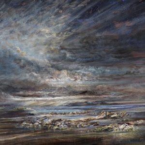 Diana Mackie Painting Isle of Skye