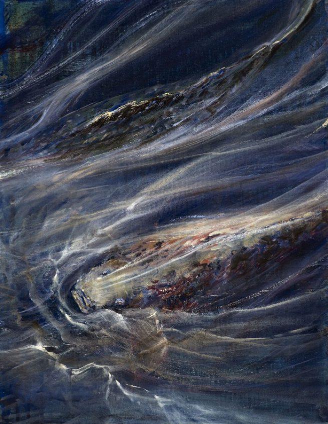 Diana Mackie Painting A Fishy Experience
