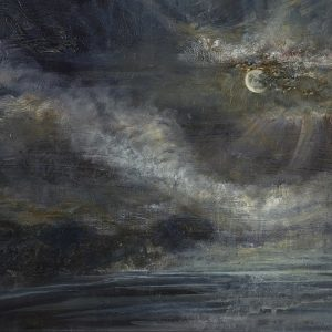 Diana Mackie Painting Full Moon Appearing