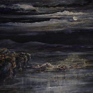 Diana Mackie Painting Low Tide Moonlight