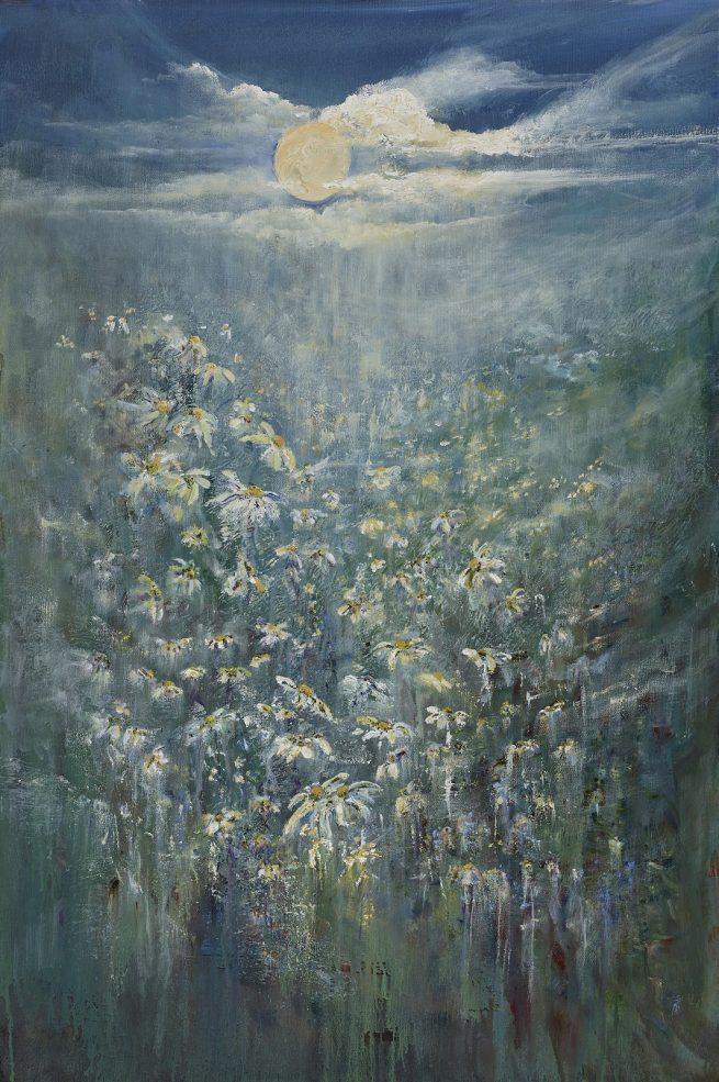 Diana Mackie Painting Sun Rising