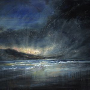 Diana Mackie Painting After the Sun