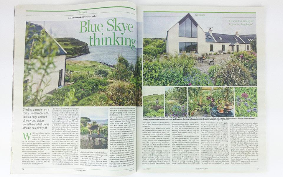 Diana Mackie Editorial