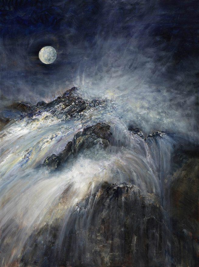 Diana Mackie Painting Head of the Waterfall