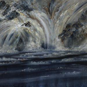 Diana Mackie Artwork Falling Water