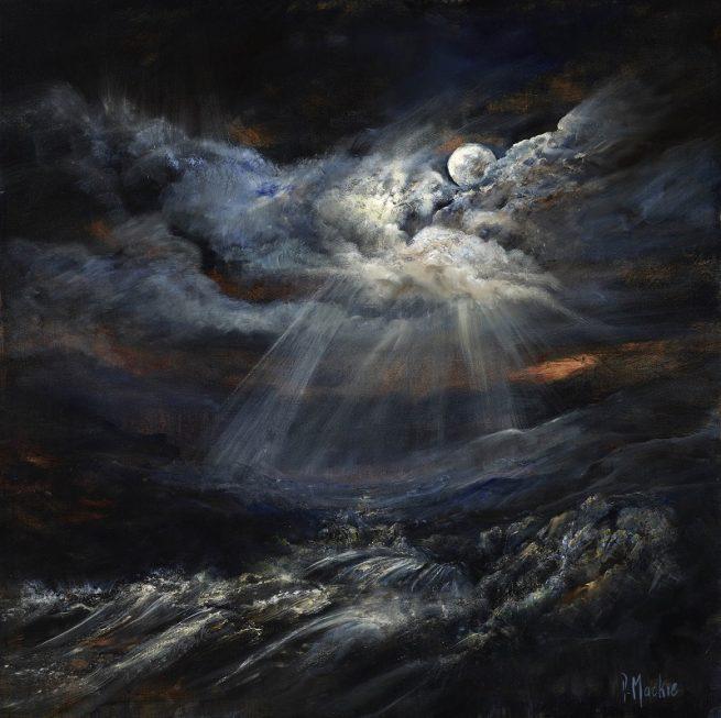 Diana Mackie Artwork Moonlight Through the Clouds
