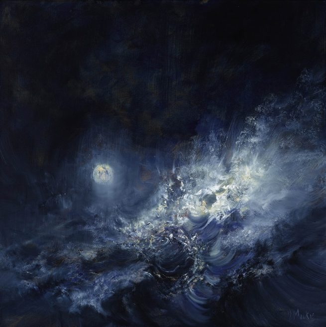 Diana Mackie Artwork Moon and Surf